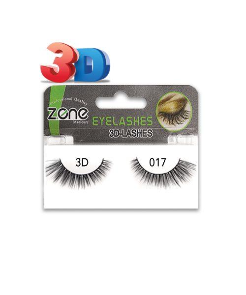 مژه جفتی Z-401)3D) کد۰۱۷