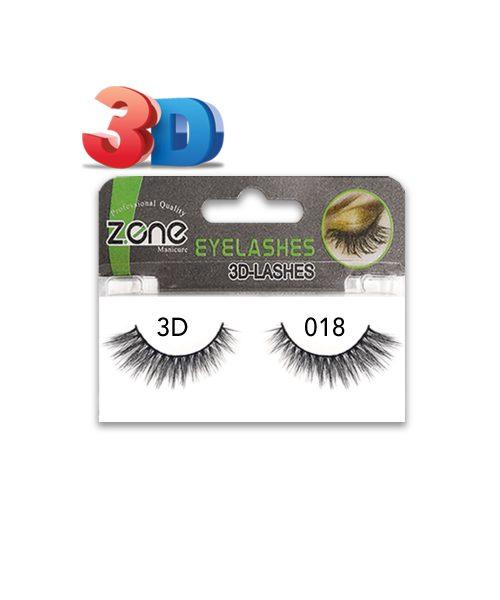 مژه جفتی Z-401)3D) کد۰۱۸