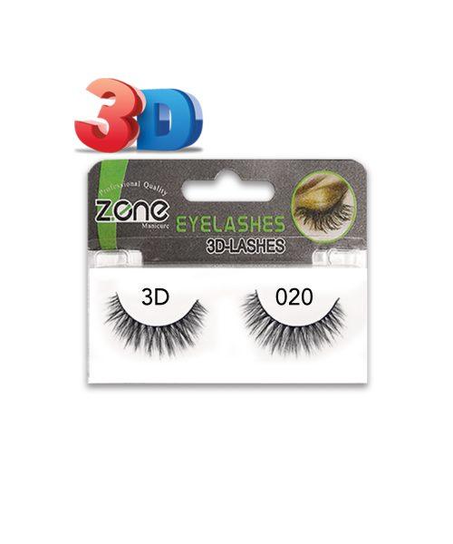 مژه جفتی Z-401)3D) کد۰۲۰