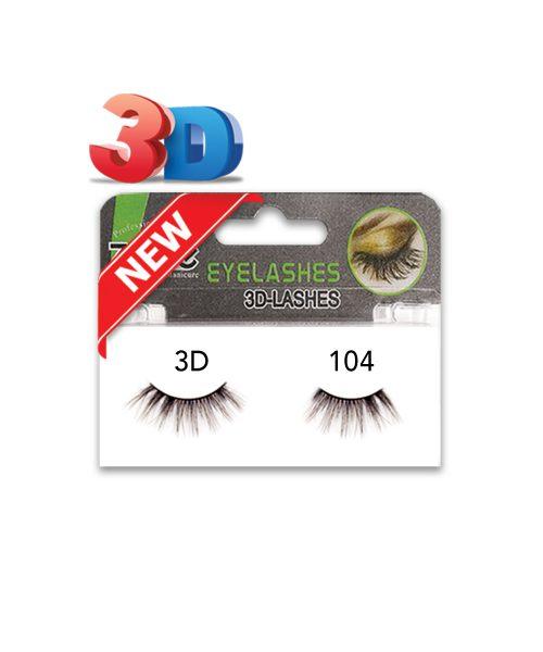مژه جفتی نیمه Z-407)3D) کد۱۰۴