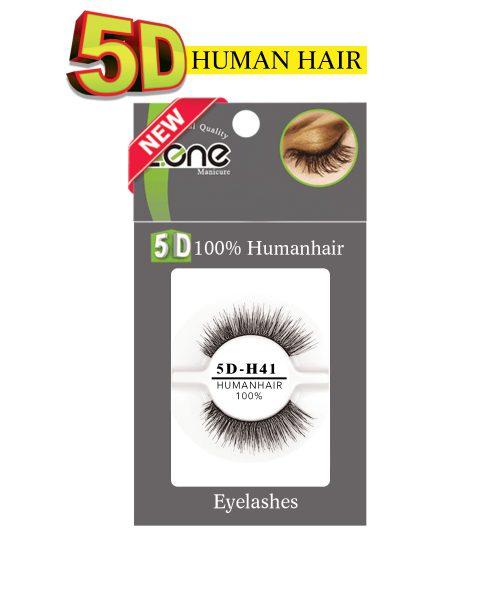 مژه جفتی Z-409) HUMAN HAIR 5D) کدH41